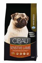 Cibau Adult Sensitive Lamb & Rice Mini 2,5 kg