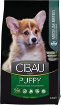 Cibau Dog Puppy Medium 2,5 kg
