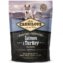 Brit Carnilove Dog Salmon & Turkey Puppies 1,5 kg