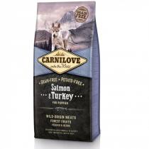 Brit Carnilove Dog Salmon & Turkey Puppies 12 kg