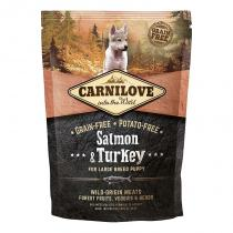 Brit Carnilove Dog Salmon & Turkey Large Breed Puppies 1,5 kg