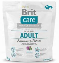 Brit Care Dog Grain Free Adult Salmon & Potato 1 kg