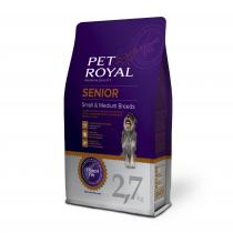 Pet Royal Senior Small & Medium Breed 2,7 kg