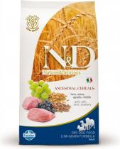N&D Low Grain Adult Lamb & Blueberry 2,5 kg