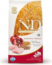 N&D Low Grain Adult Mini Chicken & Pomegranate 12 kg