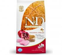 N&D Low Grain Adult Mini Chicken & Pomegranate 800 g