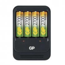 GP B0057 PB570 + 4x AA GP2700NiMH