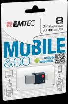 EMTEC Flash T200 MobileGoOTG USB3.0 8GB