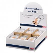 Hama akrylový přívěšek na klíče, malý, balení 24 ks (cena je uvedená za 1 ks)