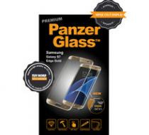 PanzerGlass ochranné sklo na displej pro Samsung S7 edge Premium, zlatá