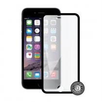 Screenshield Tempered Glass pro iPhone 6 (black; kovový okraj)