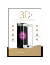 EPICO sklo 3D+ pro iPhone 6/6S (bílá)