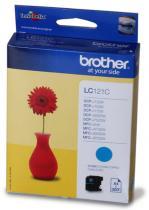 BROTHER ink.nápl. LC-121C/ Modrá/
