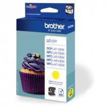 BROTHER ink.nápl. LC-123Y/ Žlutá/