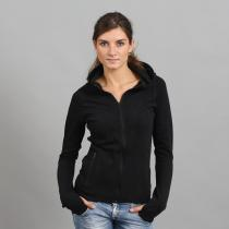 Urban Classics Ladies Athletic Interlock Zip Hoody černá