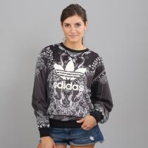 adidas Pavao Sweater černá/bílá
