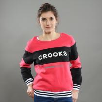 Crooks & Castles Finesse Crew Sweatshirt růžová