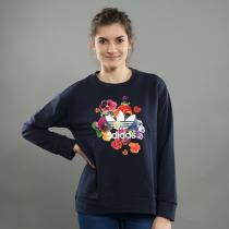 adidas Flower Sweater navy/multicolor