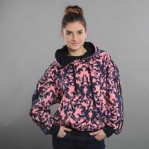 adidas AOP Hoodie růžová/navy