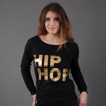 Urban Classics Hip Hop Crew černá/zlatá
