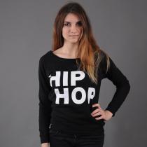 Urban Classics Hip Hop Crew černá/bílá