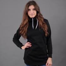Urban Classics Ladies Long Sweat Hoody černá