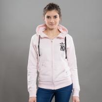 adidas FZ Hoody FT melange růžová