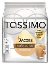 KRAFT Tassimo Jacobs Cafe Au Lait 184g