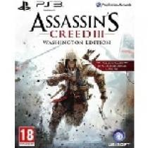Assassins Creed III Washington Edition (PS3)