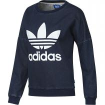 adidas Tr Denim Sweat modrá