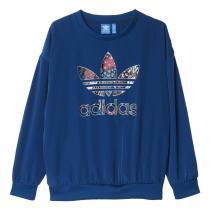 adidas Trefoil Sweatshirt modrá