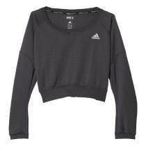 adidas Aktiv Cozy Pullover W šedá