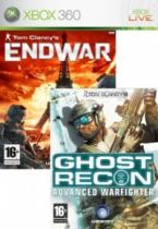 Ghost Recon AW + End war double pack (X360)