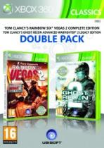 GR Advance Warfighter&Rainbow 6 Vegas2 (X360)