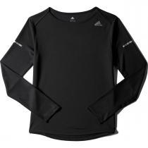 adidas SQ CC Run Ls Tee W černá