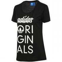 adidas Originals Tee černá