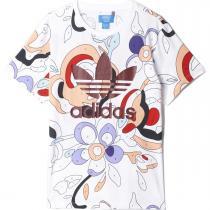 adidas T-Shirt bílá