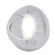 Art of Polo bílo-šedá tunelová šála
