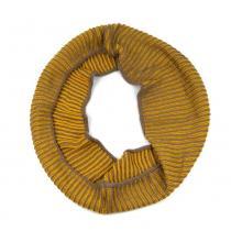 Art of Polo žluto-béžová tunelová šála
