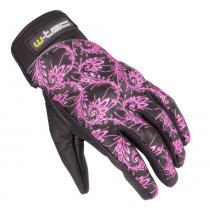 W-TEC NF-4208 růžová (Moto rukavice)