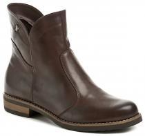 Abil 793 hnědé dámské zimní kotníčkové boty
