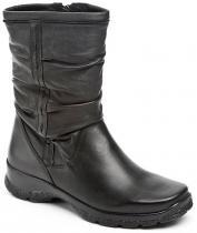 Axel dámské zimní boty Waw AXB832 černé polokozačky