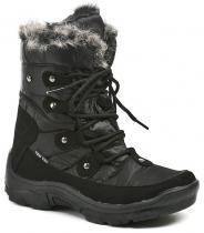 Cortina.be Dámská zimní obuv 902620 černé kotníkové boty