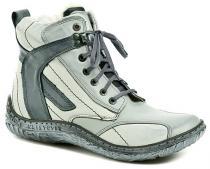 Hilby 1211 modré dámské zimní boty
