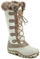 Jacalu 8503.1 bílé dámské zimní boty