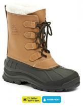 Kamik ALBORG hnědé dámské zimní boty