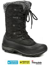 Kamik Fortress Black dámská zimní obuv