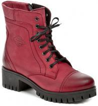 MintakaCZ Mintaka 62272-4 červené dámské zimní boty