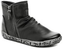 Scandi 56-0355-A1 černé dámské zimní boty