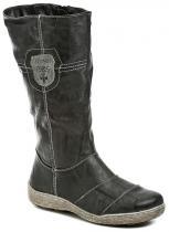 Scandi 56-0929-C1 šedé dámské zimní kozačky
